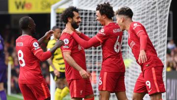 Salah scored an incredible goal against Watford