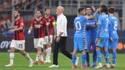 Il fischio finale di Milan-Atletico Madrid