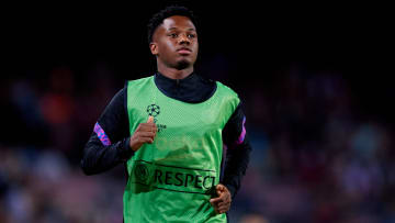 Ansu Fati wanted to commit his future to Barcelona