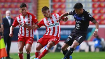 Necaxa v Monterrey - Torneo Guard1anes 2021 Liga MX