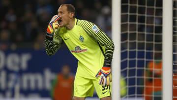 Jaroslav Drobny trainiert die Bayern-Keeper