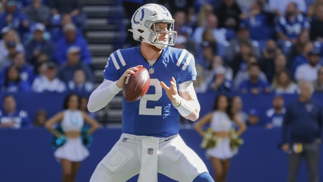 Indianapolis Colts vs San Francisco 49ers point spread, over/under, moneyline and betting trends for Week 7 NFL game.