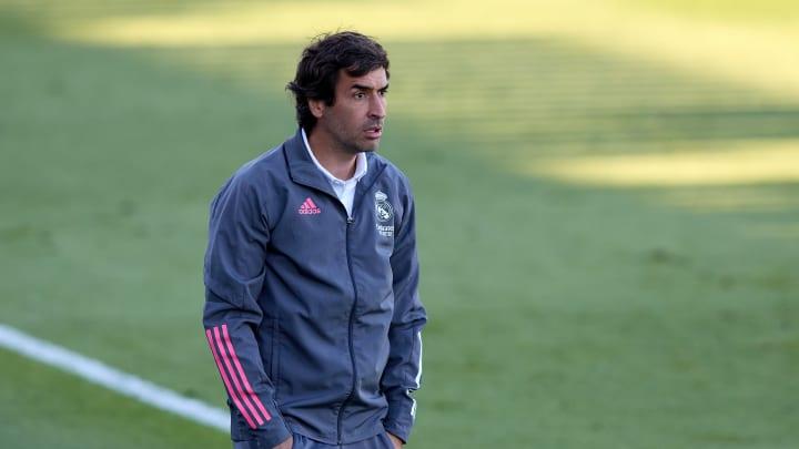 Raul trainiert seit einigen Jahren die zweite Mannschaft von Real Madrid