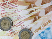 Turkish Lira Coins and Notes