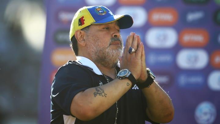 Diego Armando Maradona, el mejor de todos los tiempos también se equivocó.