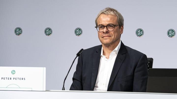 DFB-Interimspräsident Peter Peters will langfristig an der Verbandsspitze bleiben