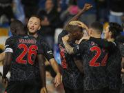 Hatten in der laufenden Serie-A-Saison bisher einigen Grund zum Jubeln: Spieler der SSC Neapel