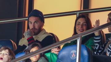 Celebrities at Paris Saint Germain v Montpellier HSC - Ligue 1 Uber Eats