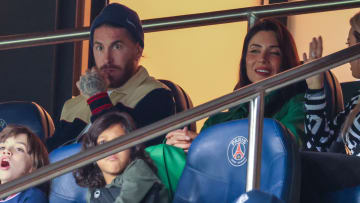Sergio Ramos has been forced to watch on from the stands in recent times