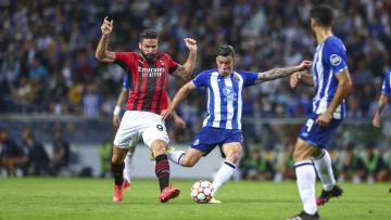Olivier Giroud was poor in Milan's defeat to Porto