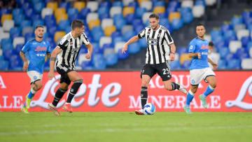 Una fase di Napoli-Juve