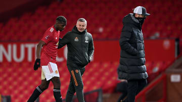 Paul Pogba was dropped for Manchester United's home tie against Atalanta