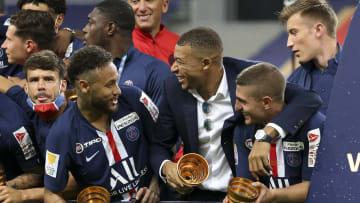 Neymar revela que ficou impressionado com o talento de alguns companheiros de PSG
