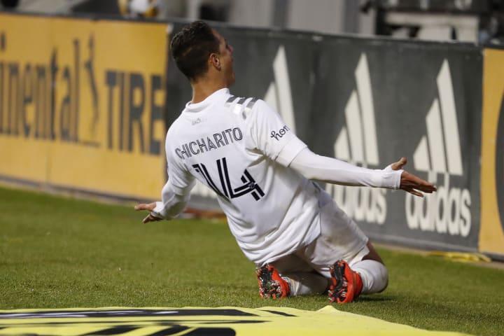 It's taken Chicharito less than 1,500 minutes to score 13 goals this season.