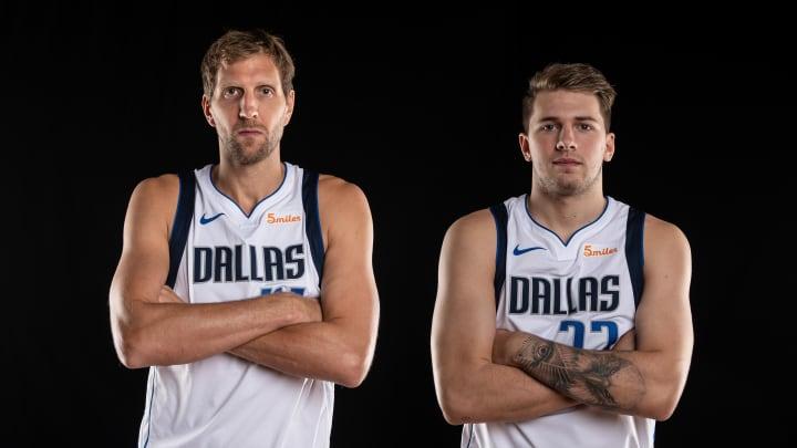 Dallas Mavericks, Dirk Nowitzki, Luka Doncic