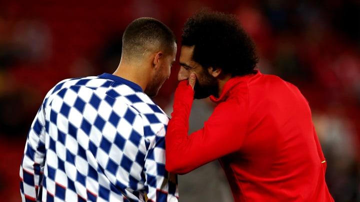 Tauschen diese beiden Angreifer die Klubs? Eden Hazard und Mo Salah