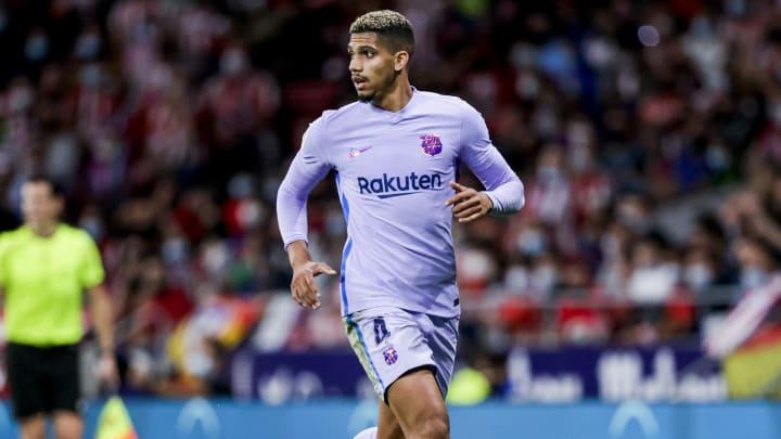 Araujo has returned to Barcelona