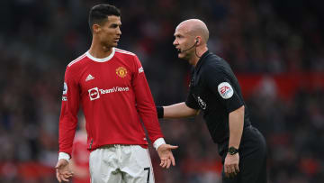 Anthony Taylor could have made Man Utd's day a whole lot worse