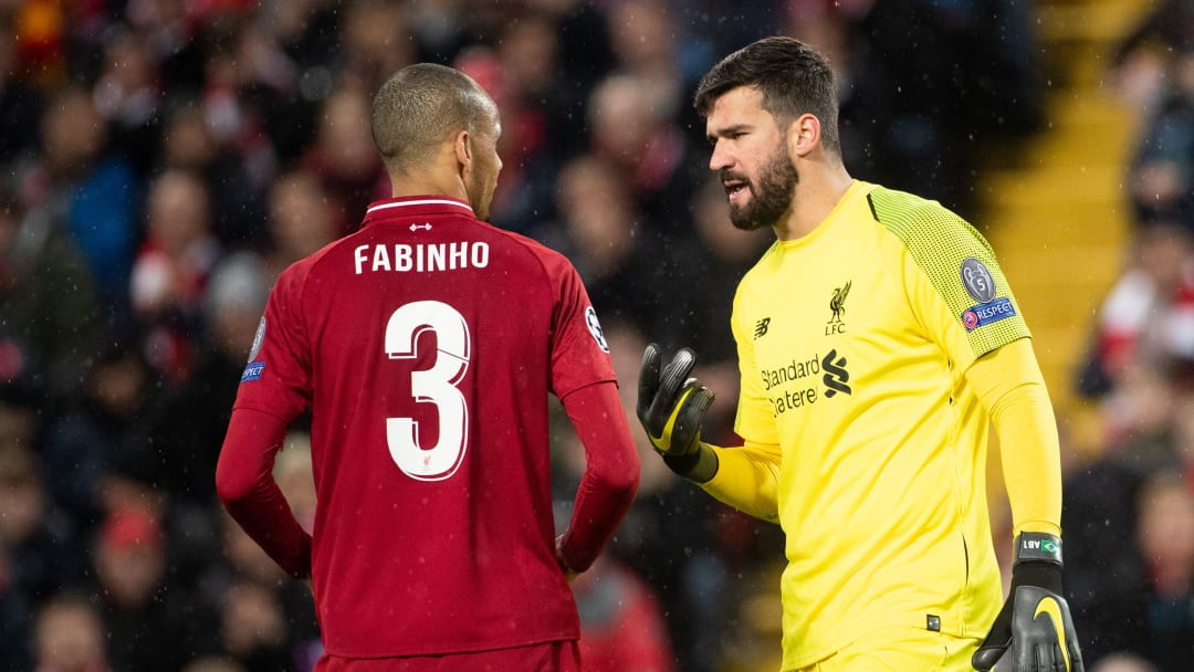 Fabinho & Alisson - Liverpool