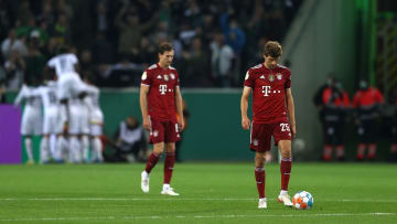 Thomas Muller and co were handed Bayern's heaviest cup defeat in their history