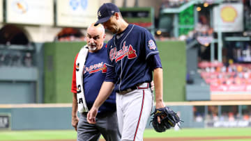 The Atlanta Braves received a terrible Charlie Morton injury update, a broken leg that will force him to miss the remainder of the World Series.