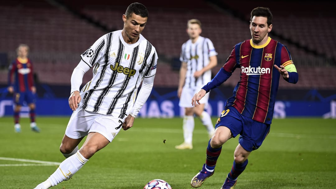 Ronaldo and Messi are two of the greatest footballers ever