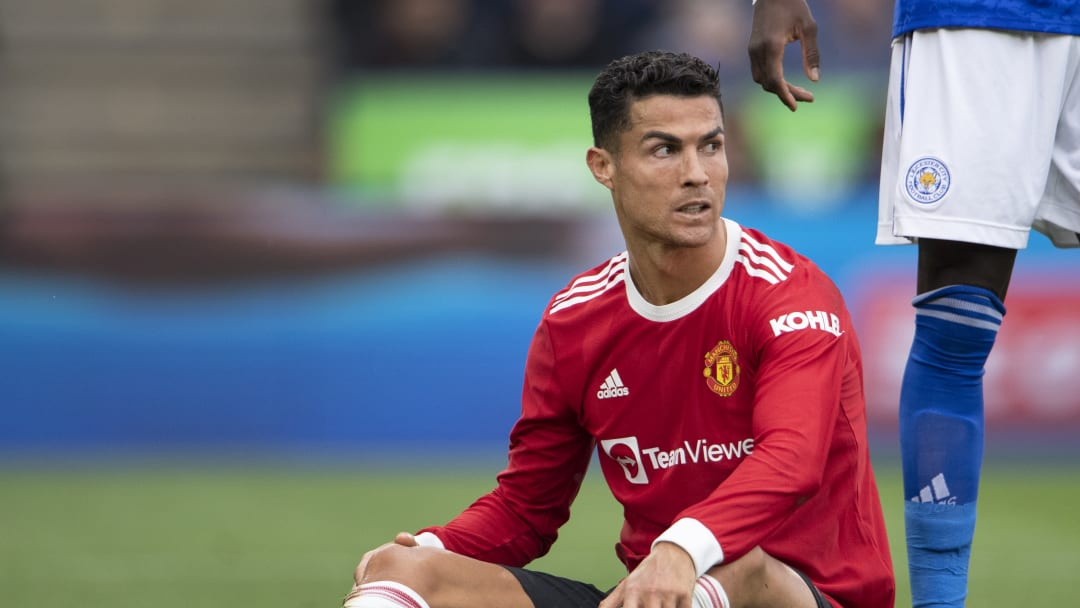 Ronaldo was understandably upset after Man Utd's 4-2 defeat to Leicester City