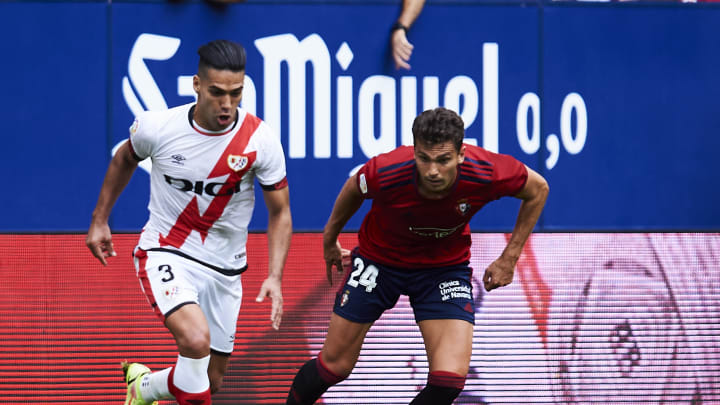 CA Osasuna v Rayo Vallecano - La Liga Santander