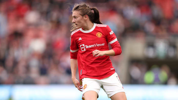 Hannah Blundell has already made a big impact since joining Man Utd