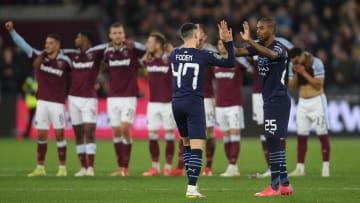 Atual campeão, Manchester City está eliminado | West Ham United v Manchester City - Carabao Cup Round of 16