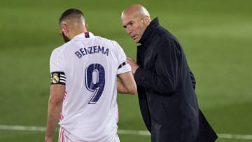 Karim Benzema dan Zinedine Zidane