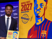 Ansu Fati was offered deals elsewhere before committing to Barcelona