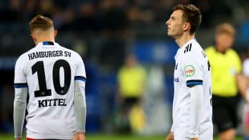 Nach dem Remis gegen Düsseldorf gab es beim HSV lange Gesichter