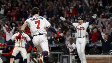 Championship Series - Los Angeles Dodgers v Atlanta Braves - Game Two
