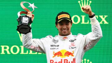 Sergio Pérez se subió al podio en el Gran Premio de Turquía