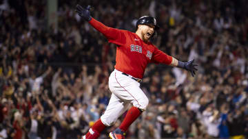 Christian Vázquez put Boston one step away from the Championship Series