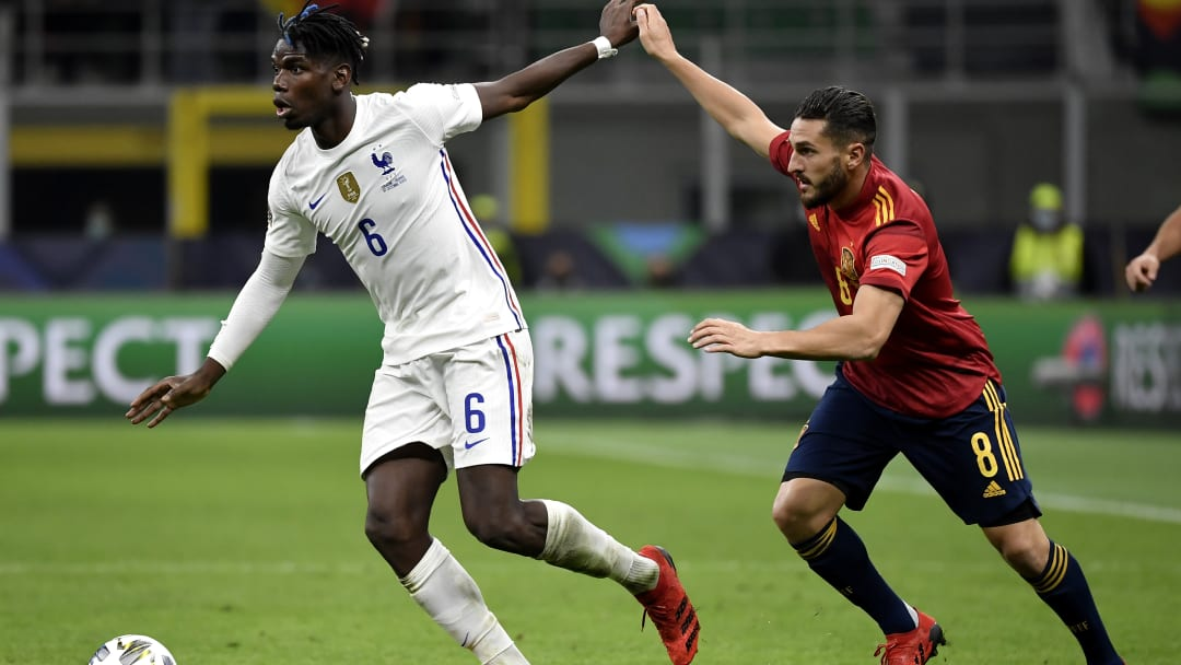 Pogba during UEFA Nations League final