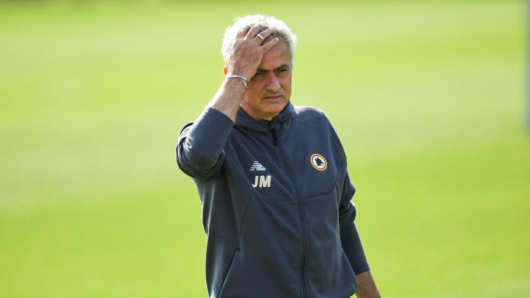 José Mourinho vient de subir une très lourde défaite avec l'AS Roma, à Bodo/Glimt (6-1).