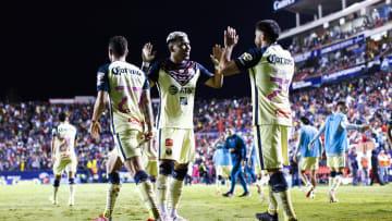 De último minuto, el colombiano Roger Martínez le dio los tres puntos al América sobre Atlético San Luis.