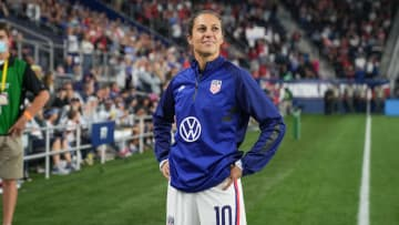 Carli Lloyd is set to play her last two matches for the USWNT