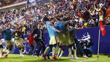 Roger Martínez anotó el gol de último minuto con el que el América venció al San Luis