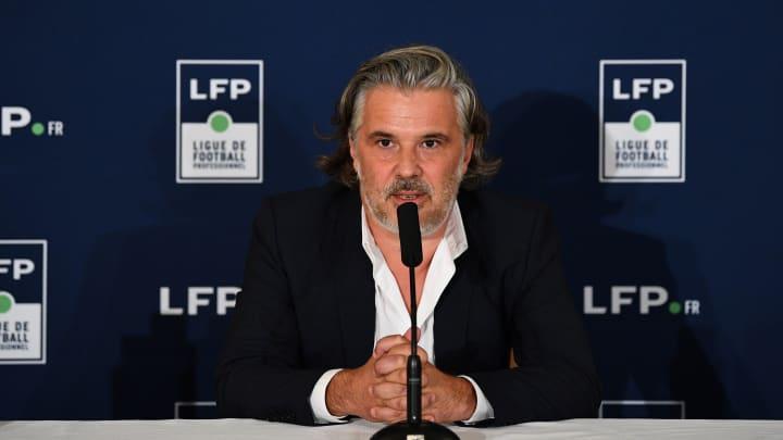 Vincent Labrune, président de la LFP opposé à la Coupe du Monde tous les deux ans.