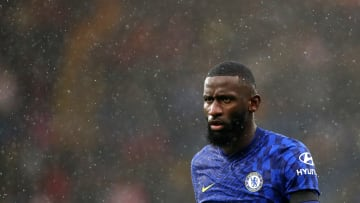 Rudiger has suffered a back injury
