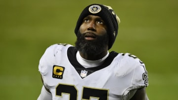 Malcolm Jenkins plays for the New Orleans Saints in NFL