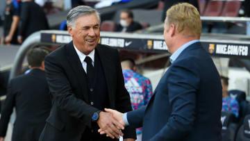 Ancelotti and Koeman squared off on Sunday