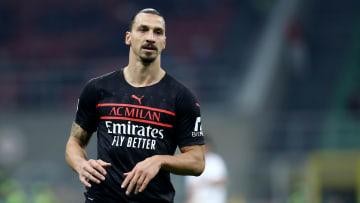 Zlatan Ibrahimovic de retour avec l'AC Milan.