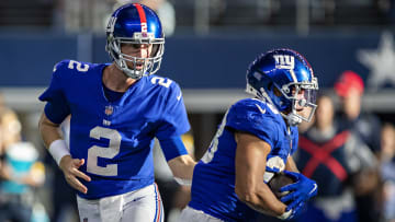 Carolina Panthers vs New York Giants point spread, over/under, moneyline and betting trends for Week 7 NFL game.