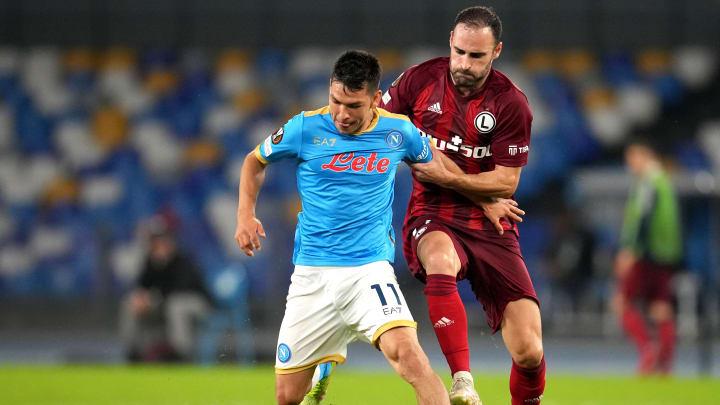 SSC Napoli v Legia Warszawa: Group C - UEFA Europa League