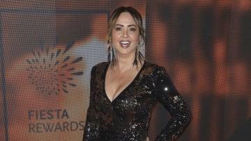 Andrea Legarreta es conductora de Venga la Alegría