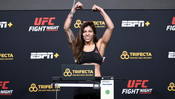 Manon Fiorot vs Mayra Bueno Silva UFC Vegas 40 women's flyweight bout odds, prediction, fight info, stats, stream and betting insights.